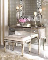 makeup dressers makeup table with mirror and chair foter