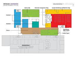Machine Shop Floor Plan E7 Building Tour Waterloo Engineering