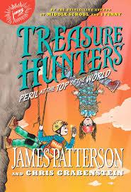 treasure hunters peril at the top of the world hachette book