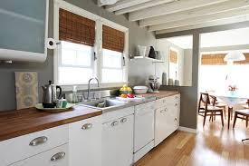 white kitchen cabinets with butcher block countertops all about butcher block countertops kitchn