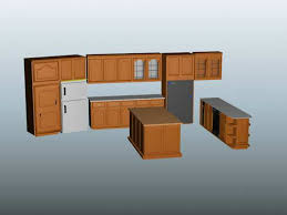lately kitchen cabinets free 3d model download kitchen