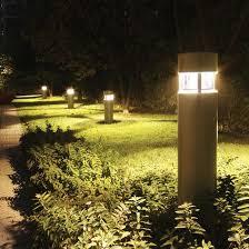 Landscape Bollard Lights 50 Rustic Garden Light Landscaping Ideas Rustic Gardens