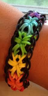 how to make a rainbow loom starburst bracelet youtube