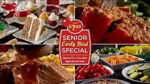 golden corral senior early bird special tv spot ispot tv