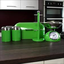 Red Kitchen Canisters - kitchen canister sets white with red green glass kitchen canister