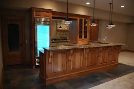 hickory kitchen cabinets with dark oak floor natural hickory