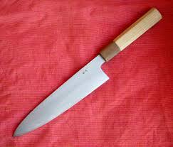 sold 4 or 5 knives fujiwara kato shigehiro takeda itinomon