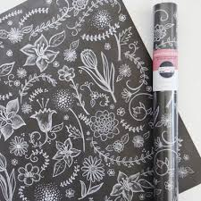 chalk wrapping paper cool wrapping paper as as the gift inside cool picks