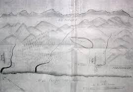 Cambria Map Rancho Santa Rosa The Cambria History Exchange