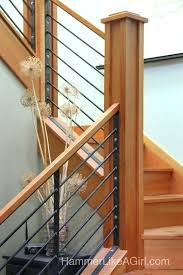 Stair Banister Kit Wooden Stair Railing With Glass Wooden Stair Railing Kits
