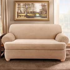 sofa wã rfel sure fit stretch stripe 2 loveseat slipcover