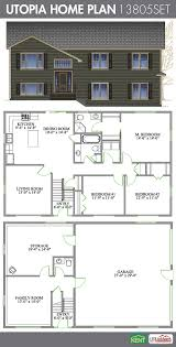 utopia 3 bedrooms and 2 1 2 bath home plan features large