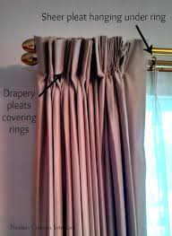 How To Put Curtain Rods Up How Not To Hang Draperies Newton Custom Interiors