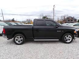 used 2009 dodge ram 1500 truck quad cab slt sport trx black for