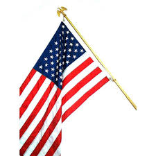 Small Flag Pole Yes Flags U0026 Flag Poles Outdoor Decor The Home Depot