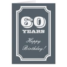 birthday cards for 60 year birthday cards for 60 year 60th birthday card 60 years only 89p