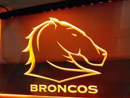 brisbane broncos led neon sign 7 colors u2013 free shipping