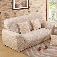 one piece stretch sofa slipcover forcheer sofa covers 1 piece printed couch cover polyester spandex