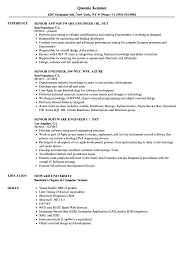 sle of resume engineer net senior resume sles velvet