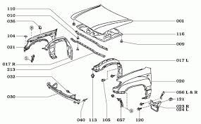 page 114 land cruiser 100 series body parts with regard to toyota