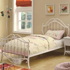 Youth Bed Frames Coaster 400521f Youth Bed In White Metal Dunk