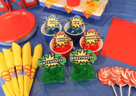 Birthday Party Decorations At Home Superman Birthday Party Happy And Blessed Home