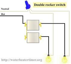 light switch wiring diagram spdtlighting circuit 2 pole
