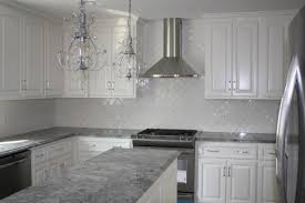 Gray Cabinets With White Countertops Grey Granite Countertops With White Cabinets 3bantu86 Kitchen