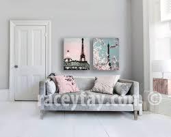 Large Eiffel Tower Statue Sale Pink Paris Canvas Eiffel Tower Canvas Large Canvas