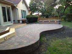 Raised Patio Pavers Wavy Patio Search New Garden Ideas Pinterest Garden
