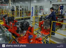 mazda automobile chongqing 2nd apr 2014 a worker works at ford motor company in