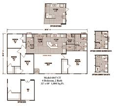 4 Bedroom Double Wide Index Of Images Skyline Homes Double Wide Homes Floor Plans