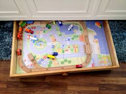 Wooden Train Table Plans Free by Ana White Train Trundle Purebond Plywood Diy Projects