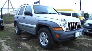 liberty jeep 2007 2005 jeep cherokee liberty start up engine and in depth tour