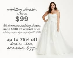 Clearance Wedding Dresses Tips For Shopping A Major Bridal Sale The Budget Savvy Bride