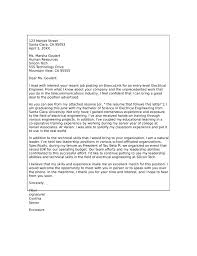 exles for cover letter for resume cover letter for application telecommunications