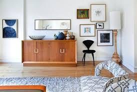Midcentury Modern Rug Mid Century Modern Living Room Floral Pattern Fabric Rug