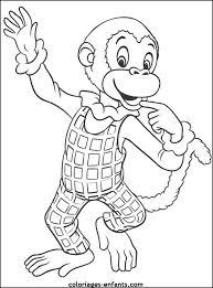 dessin d u0027un petit singe