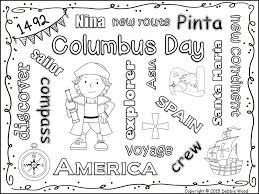 columbus day freebie vocabulary word art fun debbie wood tpt