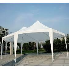 Patio Canopies And Gazebos by Patio White 29 U0027x21 U0027 22 U0027x16 U0027 Decagonal Octagonal Gazebo Canopy