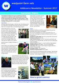 Six Flags Newsletter Ashbourne Westpoint Farm Vets