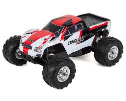 bigfoot 21 monster truck conquest 10mt xlr brushless 1 10 rtr 2wd monster truck by helion
