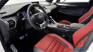 lexus nx 200t black interior 2015 lexus nx 200t f sport interior video dailymotion