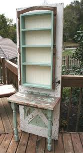Inexpensive Potting Bench by Turn An Old Wood Door Into A Potting Bench Diy Projects For