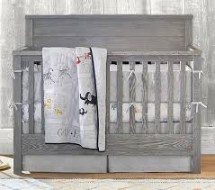 Gray Convertible Crib 4 In 1 Convertible Crib Pottery Barn
