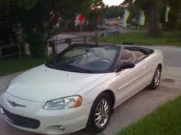 2001 chrysler sebring information and photos zombiedrive