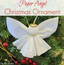 angel ornament diy paper ornament and angel