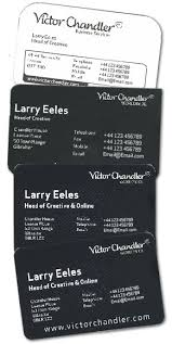 Best Way To Make Business Cards Victor Chandler Business Cards Larry Eeles Web Design