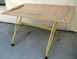 Large Drafting Table Vintage Drafting Architect S Table By Klok Perspective Mid Century