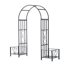 a2895black metal garden arches uk for sale australia satuska co